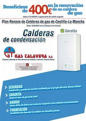 Benefíciese de 400€ en la renovación de su caldera de gas